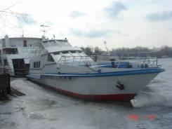 Продается Теплоход разъездной «Александр». 1991 год, длина 24,00м., 135,00л.с.