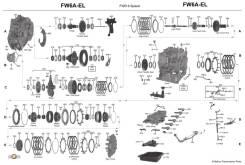 АКПП Мазда по запчастям FW6A-EL автомат мазда 6, CX5