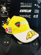 Кепка Ducati желтая