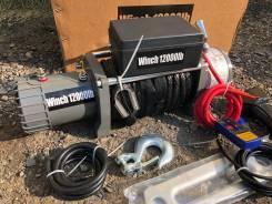 Лебедка electric winch 12000lbs 6 тонн Кевлар блок влагозащищен