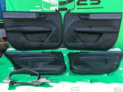 Комплект дверных карт под карбон Toyota Fielder 2013