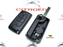 Ключ зажигания (корпус) Citroen 3-х кнопочный