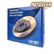 Диск тормозной пер. Advics MMC Pajero V63W, V60,70#; Pajero V83W V80,90#