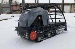 Мотобуксировщик (мотособака) бурлак-M2 LFK 15 Л.С, 2019