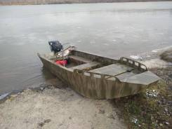 Лодка Болотоход из ПНД
