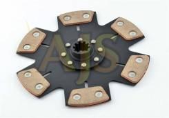 Диск сцепления керамический AJS BMW 6 лепестков, бездемпфер, металлокерамика