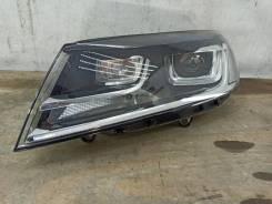 Фара ксенон Volkswagen Touareg, левая передняя
