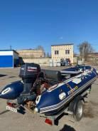 Лодка solar 500 jet + Yamaha 40 + прицеп