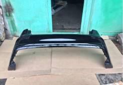 Бампер задний Kia Rio 14-17г. в. рестайлинг Черный MZH в цвет кузова