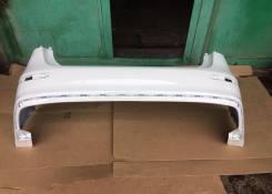 Бампер задний Kia Rio 14-17г. в. рестайлинг Белый PGU в цвет кузова