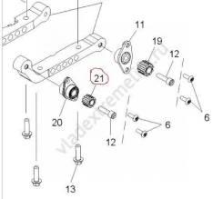 Подушка двигателя Polaris 3022426