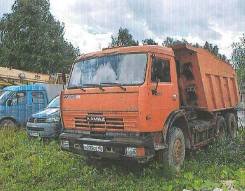 Самосвал КАМАЗ 65115, В г. Обнинске год, 2008