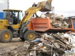 Вывоз строительного мусора, кгм, металла, аренда самосвала, погрузчика
