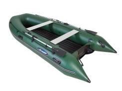 Надувная лодка Gladiator E380 LT Зелёный