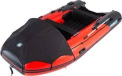 Надувная лодка Gladiator E420 Красно-черный