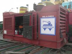 Комплект оборудования для вибропогружения свай Вибропогружатель MS-48