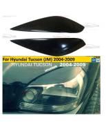 Реснички на фары для Hyundai Tucson (JM) 1 поколение (08.2004-08.2009)