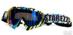 Очки мото или для сноуборда Starezzi Goggles MX Hawaii BLUE 157-808
