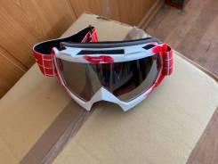 Очки/мото/сноуборд красные