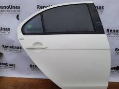 Дверь задняя правая Mitsubishi Lancer X в сборе под полировку