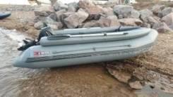 Надувная лодка ПВХ X-River Rocky 375 + фальшборт