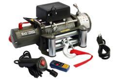 Автомобильная Лебедка Electric Winch 12v 12000lb 6тонн Стальной трос