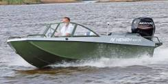 Купить лодку (катер) Неман-500 DC водомет