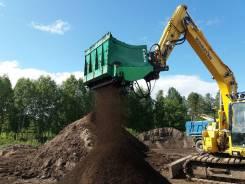 Просеивающий ковш для грунта и торфа Cobra S3-150 (Финляндия)