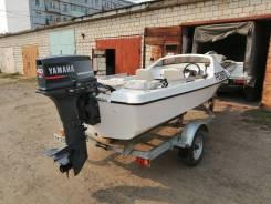 Продам катер G-14 Yamaha мотор Yamaha 40 2-х тактный с гидроподъемом.