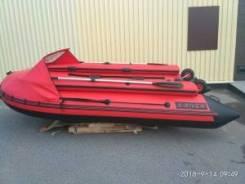 Лодка X-River Grace 360 WIND с Фальшбортом и Носовым тентом