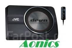 Сабвуфер компактный JVC CW-DRA8. Новый. Отличный