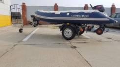 Продам лодку Solar 380+мотор Tohatsu+прицеп мзса