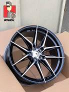 Литые диски Rohana RFX13 18x8.5 et35 5x112 Черный с полировкой