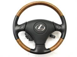 Оригинальный руль с косточкой дерево Lexus