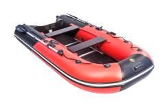 """Лодка ПВХ Ривьера 3200 СК Компакт под мотор """"Комби"""" красный/черный"""