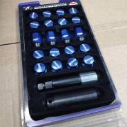 Гайки Rays Composite 12*1.5 синие