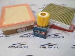 Комплект фильтров на Prius 30,35,40, Auris, CT200H, Mebius