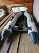 Продам надувную лодку одисей 3.6 м с мотором suzuki 9.9 л. с. 2015 год
