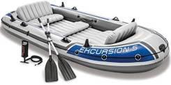 5местная лодка Intex Excursion