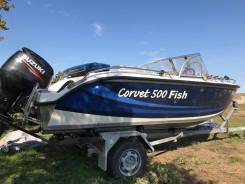 Катер Carvet 500 Fish 2012 г. Трейлер и картплоттер. MotorKrym