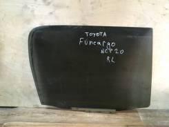 Стекло двери заднее левое Toyota Funcargo