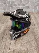 Мото шлем кросс/эндуро Подростковый Размер S