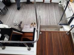 Восстановление палубных покрытий из натурального тика для яхт, катеров