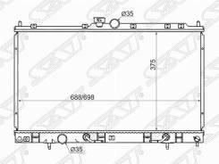 Радиатор охлождения Mitsubishi Lancer 9 Cedia