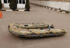 Лодка РИБ (RIB) Тритон 380
