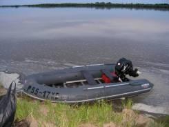 Комплект лодочный мотор Parsun F15bms + лодка Кайман N380