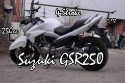 Suzuki GSR 250 Inazuma, 2012