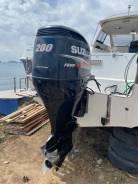 Продам лодочный мотор Suzuki DF200 с дистанцией