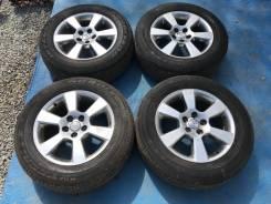 Комплект колес 225/65R17 на литье Toyota, сверловка 5*114.3