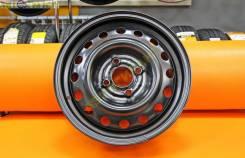 Комплект новых стальных дисков Trebel R14